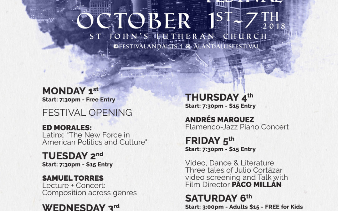 St. John's Presents… the Al-Andalus Festival this October!