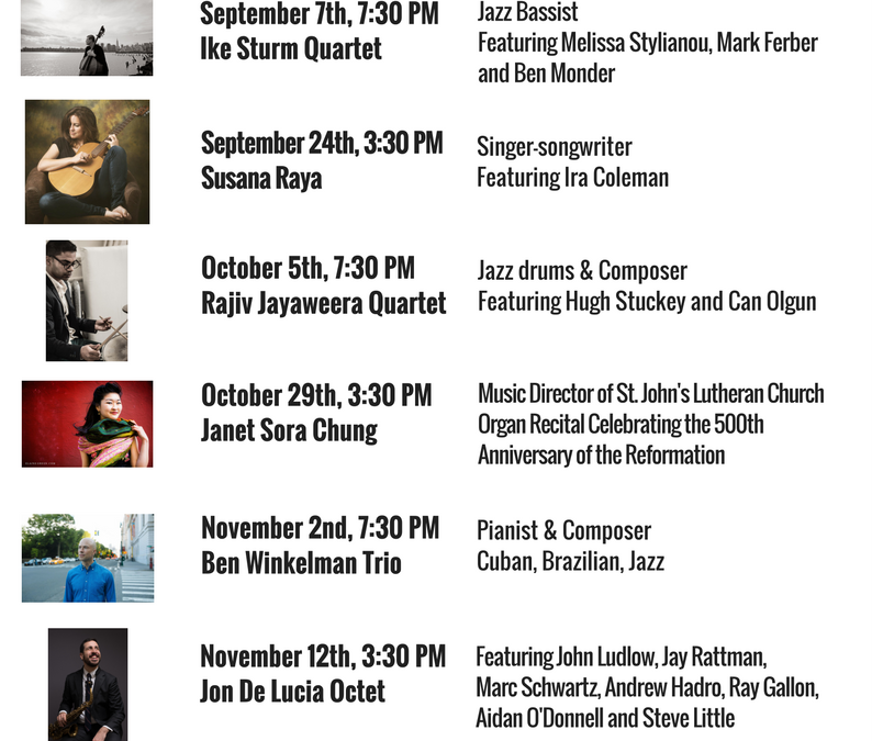 Our Upcoming Concerts!